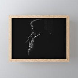 Soulful Silhouette Framed Mini Art Print