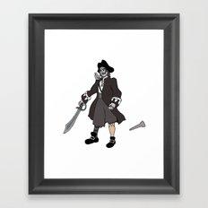 Pirate Prosthetics Framed Art Print