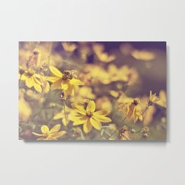 Summer  Bee Metal Print