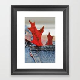Autumn Levi's Framed Art Print