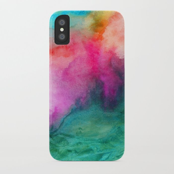 Staring at the Ceiling iPhone Case