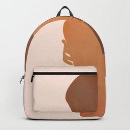 Minimal Female Figure Backpack