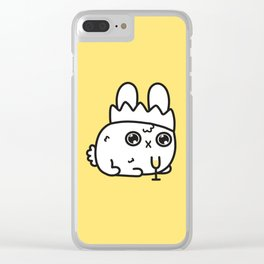 New Year bunny Clear iPhone Case