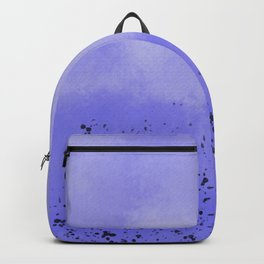 Abstract speckled background - purple Backpack