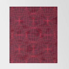 ELEGANT DARK RED GRAPHIC DESIGN Throw Blanket