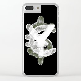 YES to CASH Clear iPhone Case