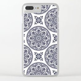 Tara in Blue Clear iPhone Case
