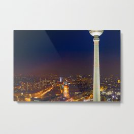 Berlin Alexanderplatz Metal Print