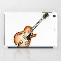 guitar iPad Cases featuring Guitar by Bridget Davidson