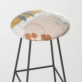 Line in Nature II Bar Stool