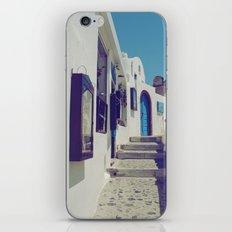 Santorini Walkway V iPhone Skin