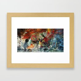 Ghost's night Framed Art Print