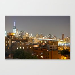 Brooklyn View of NYC Skyline (2) Canvas Print