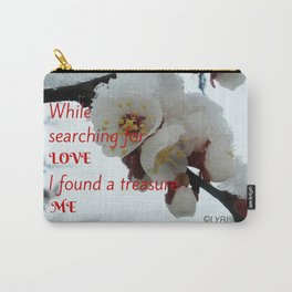 Love Yourself  Merry Christmas Edition Treasure Carry-All Pouch