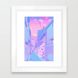 Osaka Morning Framed Art Print