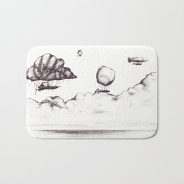 the crossing Bath Mat