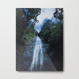 Secret Falls Metal Print