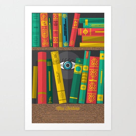 Miss Fortuna Poster Art Print
