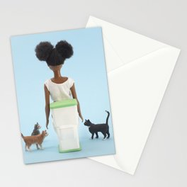 Pooping with friends Stationery Cards