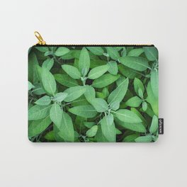 Velvet Sage in the Garden Carry-All Pouch