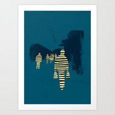 attraction Art Print