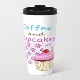 Coffee And Cupcakes Travel Mug