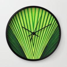 50 Shades of Green (2) Wall Clock