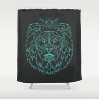 royal tenenbaums Shower Curtains featuring Royal by Rayfee