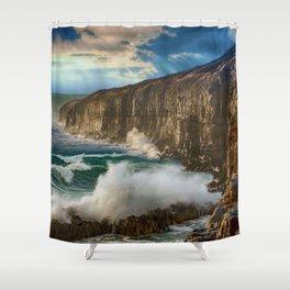 Sea Cliffs Shower Curtain