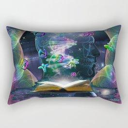 The Language of Light Rectangular Pillow