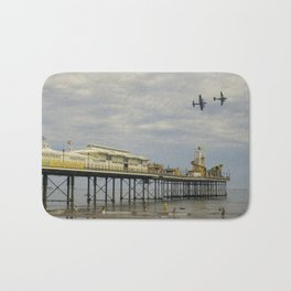 Paignton Pier Memorial Flight Bath Mat