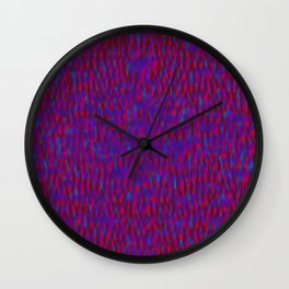 Globular Field 9 Wall Clock