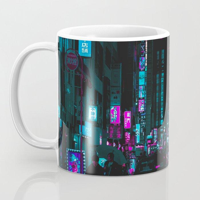 cyberpunk lost street Coffee Mug