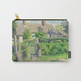 Peasants' Houses,  Éragny Carry-All Pouch