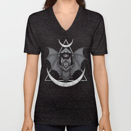 Occult Bat Unisex V-Neck