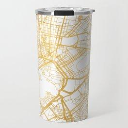 ATHENS GREECE CITY STREET MAP ART Travel Mug