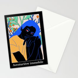 the motionless adventurer Stationery Cards
