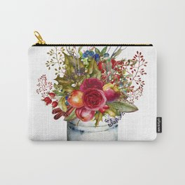 Woodland Bouquet Carry-All Pouch