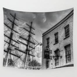 The Cutty Sark and Gypsy Moth Pub Wall Tapestry