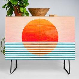 Minimalist Sunset III Credenza