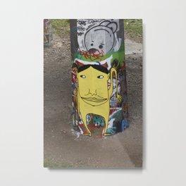 Graffiti in Paris Metal Print