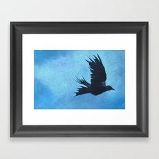 As The Crow Flys Framed Art Print