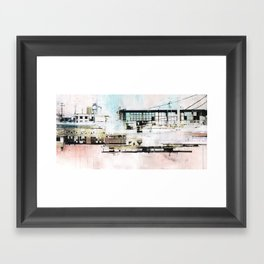 High Contrast Framed Art Print