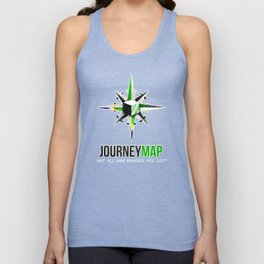 Journey Map Unisex Tank Top