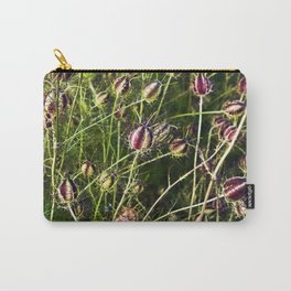 LOVE in a Mist - NIGELLA damascena Carry-All Pouch