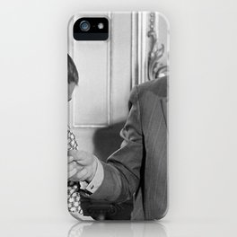 Chirac Veil on his cunts! iPhone Case