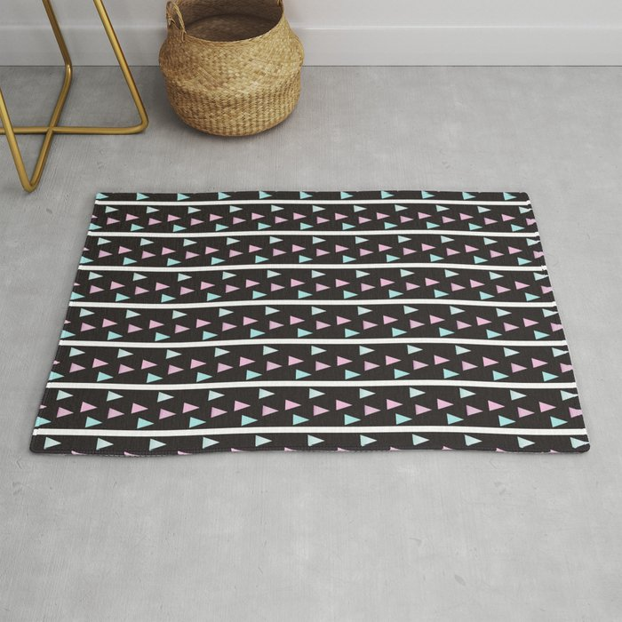 MOUNTAIN TOP STRIPES Rug By Everettco