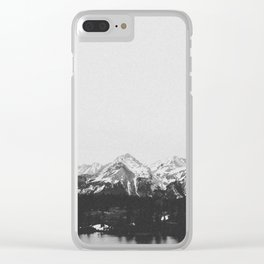 THE MOUNTAINS XIII Clear iPhone Case