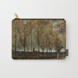 Vincent Van Gogh Poplars Near Nuenen Carry-All Pouch