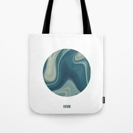ABSTRACT LIQUIDS XXVIII - 28 Tote Bag
